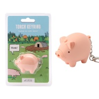 Pig - Keyring Torch