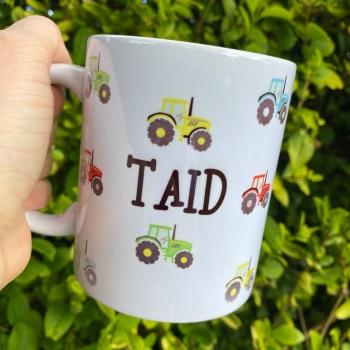 Taid Tractor - Mug