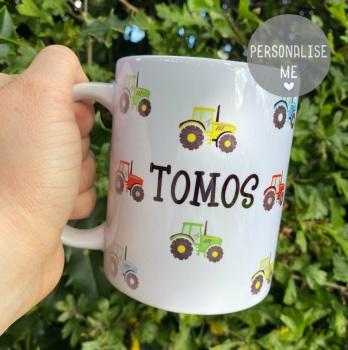 Personalised Tractor - Mug