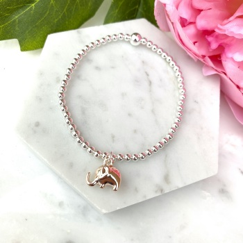 Elephant Bracelet - Rose Gold