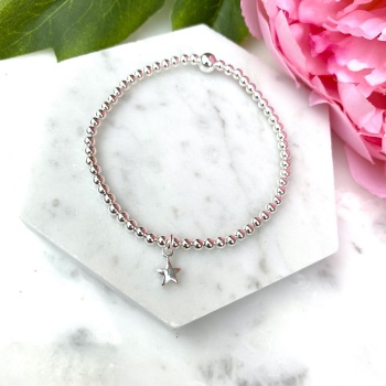 Mini Star Bracelet - Silver