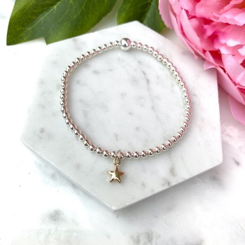 Mini Star Bracelet - Gold