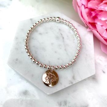 Tree Bracelet - Rose Gold