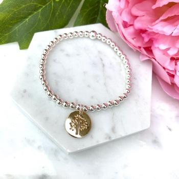Tree Bracelet - Gold