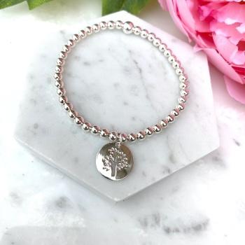 Tree Bracelet - Silver