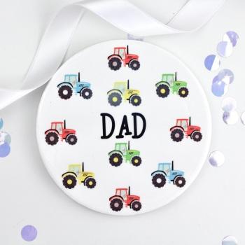 Tractors - Dad - Coaster