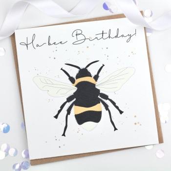 Ha-bee Birthday  - Card