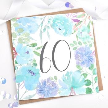 Floral Flourish  - 60 - Card