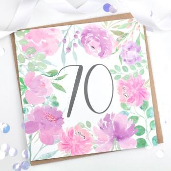Floral Flourish  - 70 - Card