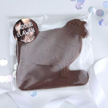 Milk - Chocolate Sheep - Nadolig Llawen