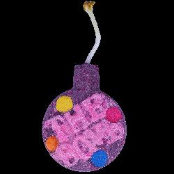 Fizzy Rascal - Large Watercolour Bath Bomb
