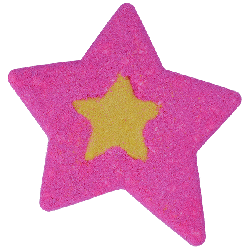 Star - Large Watercolour Bath Bomb