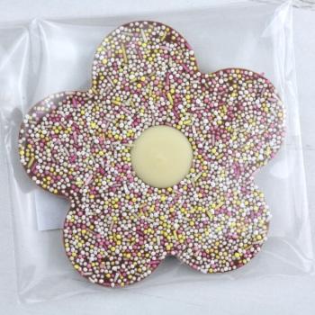 Milk Chocolate & Sprinkles - Chocolate Flower