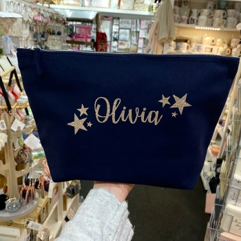 Personalised Starry Bag - Various Colour Choice