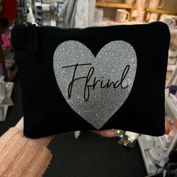 Heart - Ffrind Bag - Black