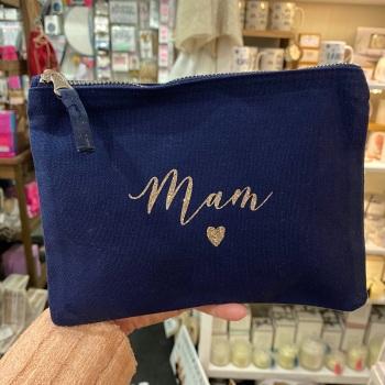 Mam Heart Bag - Navy - Various Colour Choices