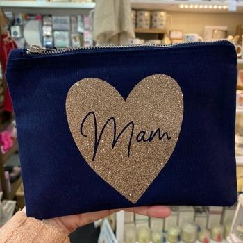 Heart - Mam Bag - Navy