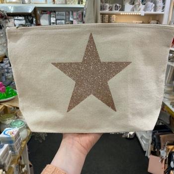 Star - Wash Bag - Various Colour Choices