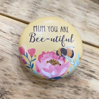 Mum Bee - Compact Mirror