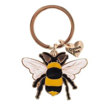 Bee Enamel - Keyring