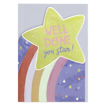 Well Done - Cut out Card