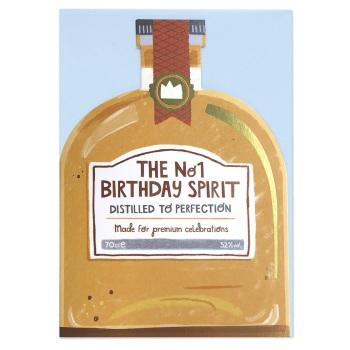 Birthday Spirits - Cut out Card