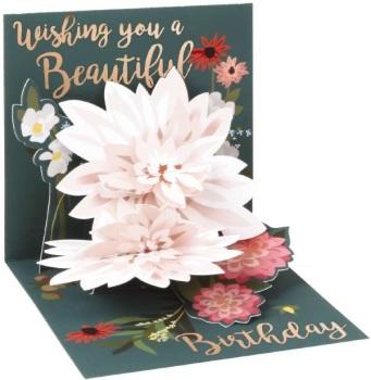 Beautiful Birthday - Pop Up Card - Trinket
