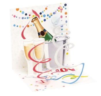 Celebration - Pop Up Card - Trinket