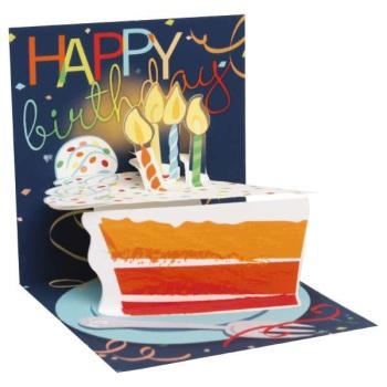 Birthday Cake - Pop Up Card - Trinket