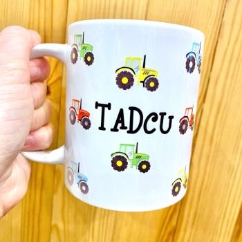 Tadcu Tractor - Mug
