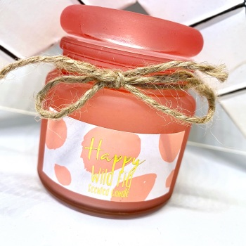Wild Fig (Happy) - Small Jar Candle
