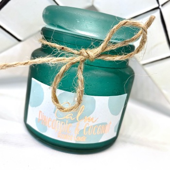 Coconut & Pineapple (Calm) - Small Jar Candle