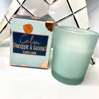 Coconut & Pineapple (Calm) - Boxed Candle