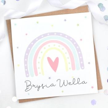 Brysia Wella Rainbow  - Card