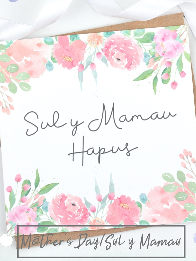 Mother's Day/Sul y Mamau Cards