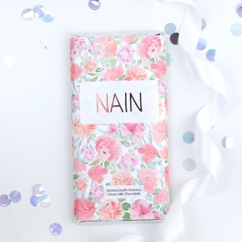 Nain - Floral Milk Chocolate Bar