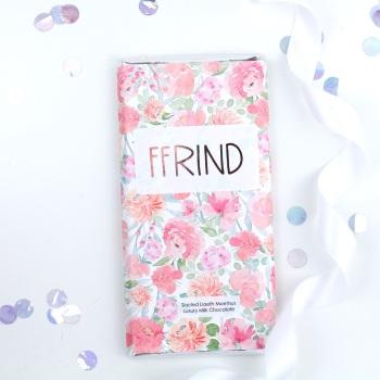 Ffrind - Floral Milk Chocolate Bar