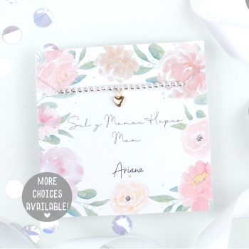 Sul y Mamau Hapus Mam - Silver Stretch Bracelet - Various Choice