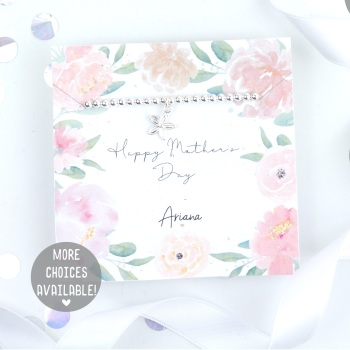 Happy Mother's Day - Silver Stretch Bracelet - Various Choice