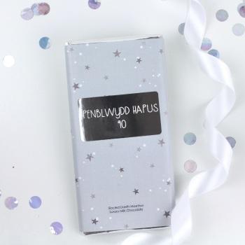 Penblwydd Hapus 90 - Starry Milk Chocolate Bar