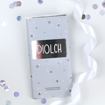 Diolch - Starry Milk Chocolate Bar