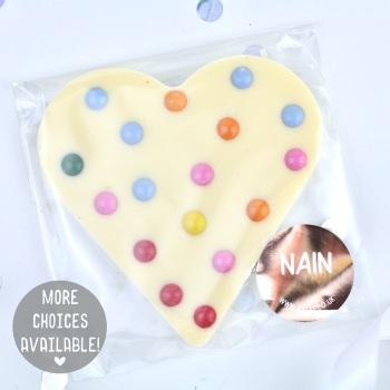 Nain - Chocolate Heart - Various Choice