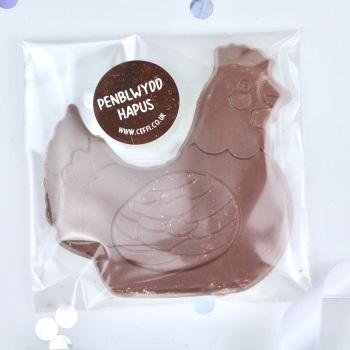 Penblwydd Hapus - Chocolate Hen