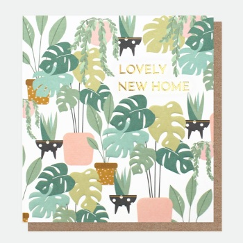 New Home Plants - Card