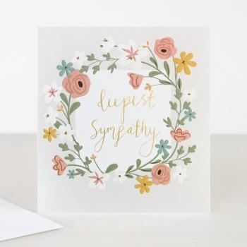 Deepest Sympathy - Card