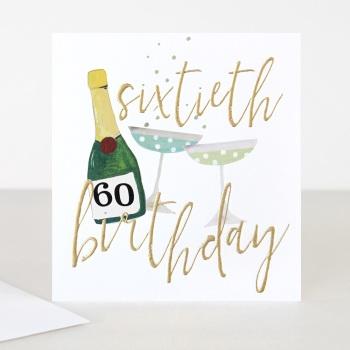 Happy 60th Birthday - Card