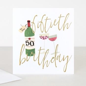 Happy 50th Birthday - Card