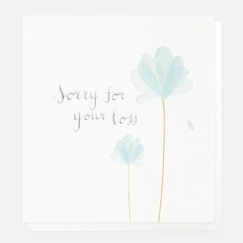 Sorry for your loss- Card