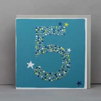 Starry 5 - Card