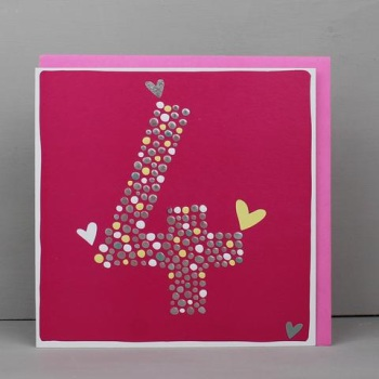 Heart 4 - Card